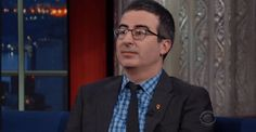 New trending GIF tagged john oliver the late show with stephen...