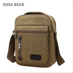456a3841d3 DIDABEAR Brand 2018 Men Crossbody Bags Male Canvas Shoulder Bags Boy  Messenger Bags Handbags for Travel