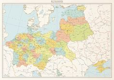 Mitteleuropa - All roads lead to Germania by 1Blomma on DeviantArt