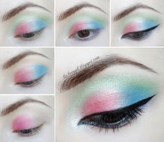 pastel makeup pastel gothic tutorial step by step  grunge makeup tutorial #prom,,