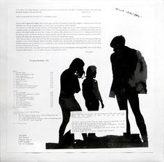Die Time Twisters, verdammt!  Girls, Gurus & Gitarren  starring Andreas Henning und Jürgen Jahn  LP Cover Rückseite  © 1994, viel leicht, Götz Wentzel