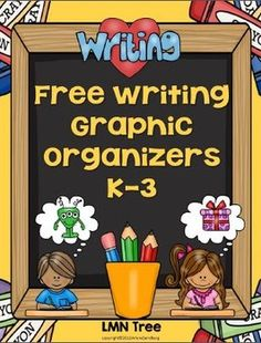 Classroom Freebies: Writing Graphic Organizers for Primary Grades Writing Worksheets, Writing Lessons, Teaching Writing, Kindergarten Activities, Writing Activities, Graphic Organisers, Word Web, Writing Graphic Organizers, Work On Writing