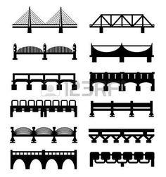 ベクトル免震橋の大きなアイコンを設定 photo Bridge Logo, Canoe, Homeschool, Wallpapers, Logos, Ideas, Design, Bridges, Toys