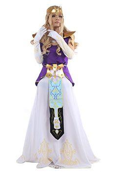 Princess Zelda Dress Fancy Cosplay Costume in Medium, http://www.amazon.com/dp/B00KYP2D10/ref=cm_sw_r_pi_awdm_Qvuzub19J98C2