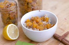 Citrus Compote With Honey And Golden Raisins Recipe — Dishmaps