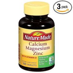 Dr. Oz says take 600mg Calcium and 400 mg Magnesium to help you sleep!
