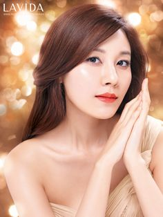 Makeup LOOK 2013, LAVIDA Perfect Orange, Kim ha neul  http://www.facebook.com http://www.thelavida.com