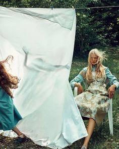 MODE. Snart vår!#elletbt @camillaforchhammer i #stellamccartney stylist@lisalindqwister (#boemarion ) #ellesverige #ellemagazine #newbloodagency  via ELLE SWEDEN MAGAZINE OFFICIAL INSTAGRAM - Fashion Campaigns  Haute Couture  Advertising  Editorial Photography  Magazine Cover Designs  Supermodels  Runway Models