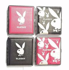 PLAYBOY BUNNIES PIN UP SEXY KING SIZE QUALITY PADDED CIGARETTE CASE HOLDER