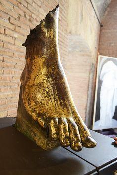 Statuary at the Mercati di Traiano