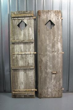 Holly's House - Pair of Vintage Doors