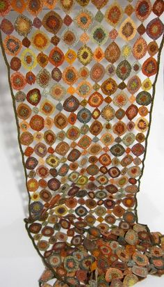 Sophie Digard Scarf -it's like stained glass windows