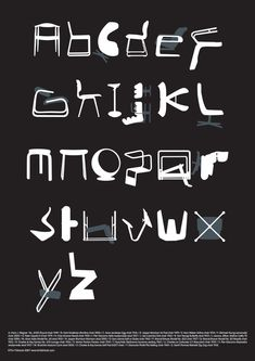 Classic Chairs As Alphabet. Tim Fishlock's Limited Edition Typeseat Screen Print and Chair Alphabet Prints From Blue Ant Studio. Cool Typography, Typography Letters, Typography Design, Creative Lettering, Hand Lettering, Design Alphabet, Alphabet Print, Alphabet City, Alphabet Soup