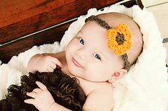 Ravelry: Autumn Flower Headband pattern by Gabrielle Hellwig
