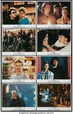 Lost Boys Movie, The Lost Boys 1987, I Movie, Scary Movies, Horror Movies, Good Movies, The Most Scariest Movie, Best Vampire Movies, Corey Haim