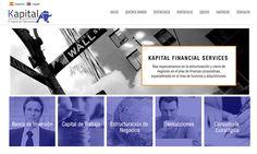 Sitio web para KAPITAL FINANCIAL SERVICES - Año ©2015