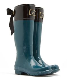 Another great find on #zulily! Dark Green Evedon Rain Boot - Women #zulilyfinds