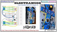 ELEKTRAMODE est petite overdrive basée sur le shema de l 'electra distortion J'ai rajouté 2 DPDT pour avoir une palette sonore plus large . Elle peut du coup également servir de treeble booster. Une pédale facile à réaliser idéale pour débuter.