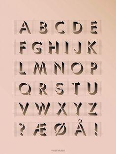 ABC-plakat fra ViSSEVASSE