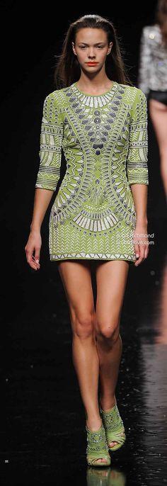 55ccd79da57 John Richmond Spring 2014. African Dresses ...