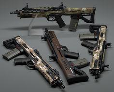 'Sunda' rifle WIP #3 by xaotherion.deviantart.com on @DeviantArt