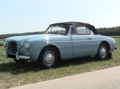 1956 Volvo Sport P1900. 68 built in 1956/57. Fibreglas body on tube frame. Powered by Volvo B14 engine with twin SU carburetors, backed up by 3 speed manual trans..