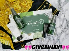 GIVEAWAY! I'm so excited to be teaming up with @memebox_usa to present you with this amazing giveaway for the Limited Edition Benton Travel Set! . The rules are easy! 1. Follow @memebox_usa 2. Follow me @makeupbrew 3. For more entries: reposts get 5 signing up for Memebox Newsletters 10! Click on more details! . FIVE Winners will be announced week of 1/30/17! US Residents only! Good luck! #memebox #memebox_usa #koreanbeauty #kbeauty #asianbeauty #asianskincare #koreanskincare #rasianbeauty…