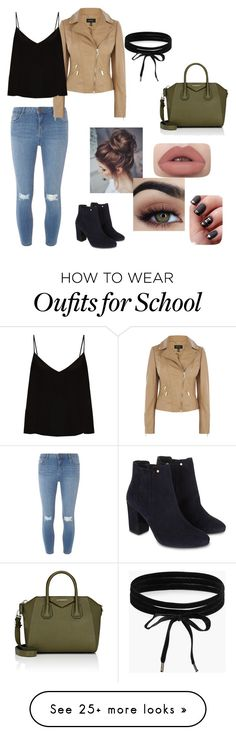 """""""Regular School Day"""" by oliviamayloves5sos on Polyvore featuring Dorothy Perkins, Raey, Monsoon, Givenchy and Boohoo"""