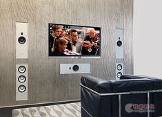 The Burmester InWall Loudspeaker series offer you a unique sound experience, which can be enjoyed everywhere in the listening room. Best Home Theater, Home Theater Rooms, Home Theater Design, Game Room Decor, Room Setup, Home Theater Surround Sound, In Wall Speakers, Entertainment Wall, Fireplace Design