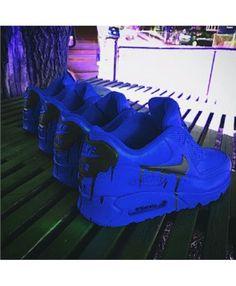 info for 34011 5da29 Nike Air Max 90 Candy Drip Deep Blue Shoes