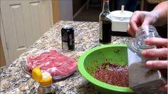 How to Make Korean Spicy Pork Bulgogi or Korean Pork BBQ (돼지불고기) by Omma's Kitchen, via YouTube.
