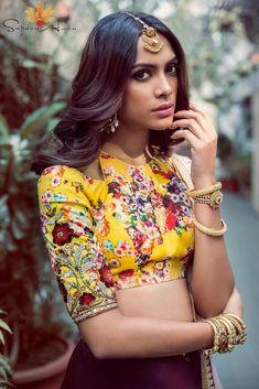 b65d574169e61b 21 Uber Cool Sleeveless Blouse Designs Women Must Have in Wardrobe | Blouse  Designs | Blouse designs, Blouse, Blouse patterns