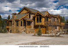 stone and wood house | my other weird side | pinterest | wood