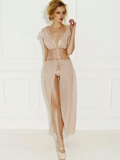 gorgeous lingerie gown
