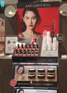 정샘물, 고객성원 힘입어 시코르 3개 매장 추가 입점 Pos Display, Display Design, Mascara, Eyeliner, Eyeshadow, Shelf Talkers, Cosmetic Display, Point Of Purchase, Graphic Design Posters