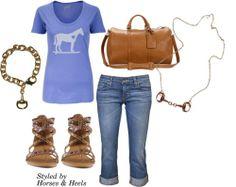 Purple | Horses & Heels