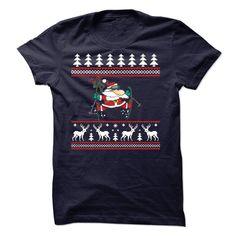 Santa Skiing!!!