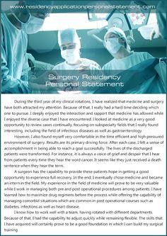 Custom Residency Personal Statement Writing Service Neurosurgery Residency Personal Statement