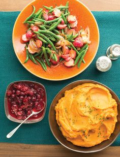 Green Beans and Radishes Braised in Orange Juice Recipe