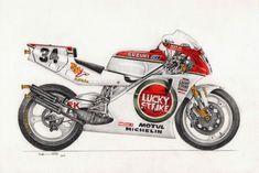 Kevin Schwantz Suzuki RGV 500