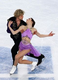 Olympic gold medalists Meryl Davis and Charlie White. They are the first American ice dance team to win an Olympic gold.