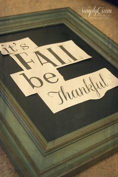 Simply Ciani: Easy Chalkboard Lettering
