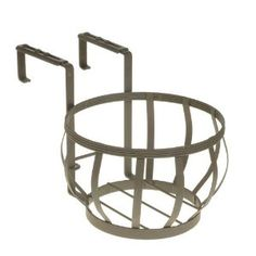 Amertac 5112R Eutruscan Pot Holder, Rust Hanging Planters, Outdoor Gardens, Pot Holders, Rust, Stool, Home Decor, Garden Box Raised, Decoration Home, Hot Pads