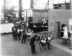 Edison Motion Picture Studio in the Bronx, New York City, 1907-1918.