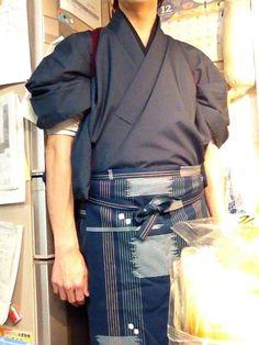 Japanese Uniform, Japanese Outfits, Japanese Fashion, Male Kimono, Men's Kimono, Modern Kimono, Japanese Costume, Oriental Fashion, Fashion Outfits