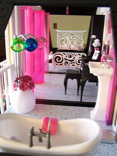 Details About OOAK Diva Barbie Dream House Furniture Sweet 1600 Monster  High Mansion Très Chic