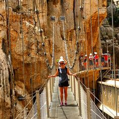 """Malaga Trips Published by Rocio Romero Bailen Like This Page · 21 hrs · Review from Heather, Canada, 3rd June 2017 Caminito del Rey Full Day Trip """"Our guide Jose is a cool dude with a passion for his job and for the awesome Caminito Del Rey. He will ensure that you get great pictures, share stories with you and even share his almonds."""" If you would like to enjoy this experience... Book it easily onwww.malagatrips.com #Malagatrips #Malagatours #Malaga #caminitodelrey #andalucia #spain"""