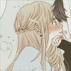 Icons para compartir ùwú - icons - Página 2 - Wattpad Cute Anime Chibi, Cute Anime Pics, Kawaii Anime Girl, Anime Art Girl, Cute Anime Profile Pictures, Matching Profile Pictures, Anime Couples Drawings, Anime Couples Manga, Deidara Wallpaper