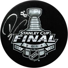 Drew Doughty Signed 2014 Stanley Cup Finals Puck - Kings Star Drew Doughty has personally hand-signed this 2014 Stanley Cup Finals Puck-Coming off recently winning the 2014 Stanley Cup Finals against the New York Rangers this young defencemen has no doubt been a huge component in the Kings success. Making his NHL debut at that young age of 18 he was named to the All-Rookie Team. He is also a two time Stanley Cup Champion which is a dream for any professional hockey player. In his career…