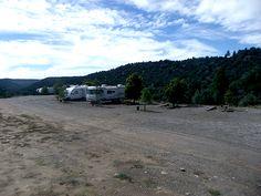 Chama River RV Park & Cooper's El Vado Ranch at Tierra Amarilla, New Mexico